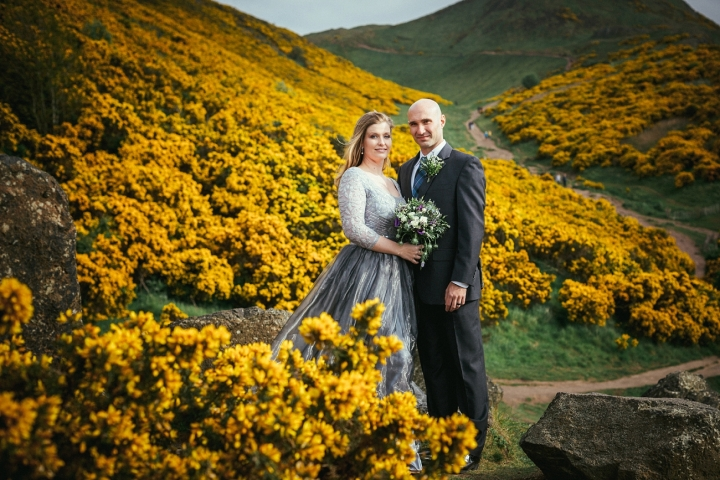 An Intimate Edinburgh Wedding