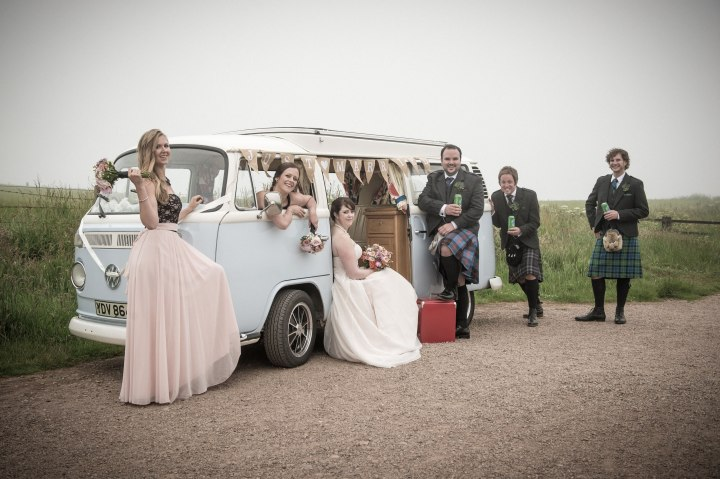 Rustic Dunnottar Castle Wedding