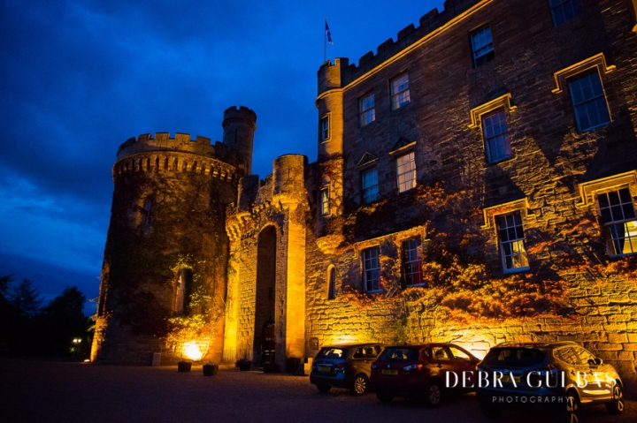 Elegant Dalhousie Castle Wedding