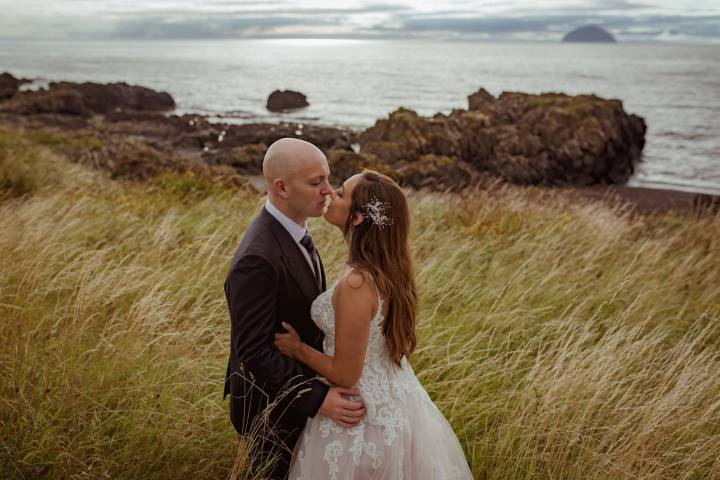 glenapp castle elopement