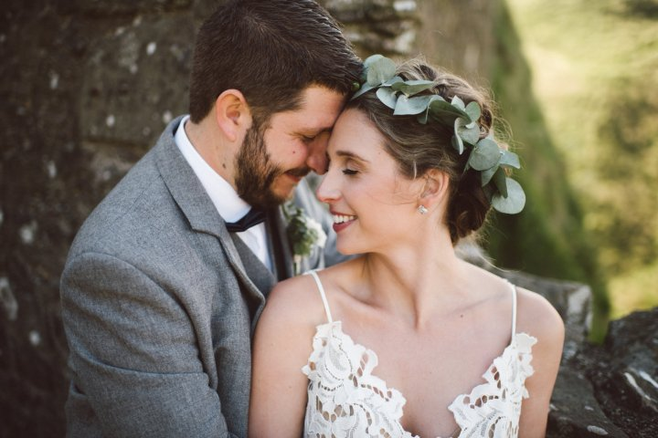 A Romantic Dunnottar Castle Destination Wedding
