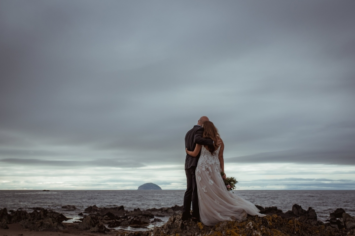 A Romantic Scottish Elopement, Glenapp Castle.