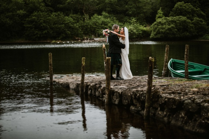 A Lochside Destination Wedding at Ardanaiseig.