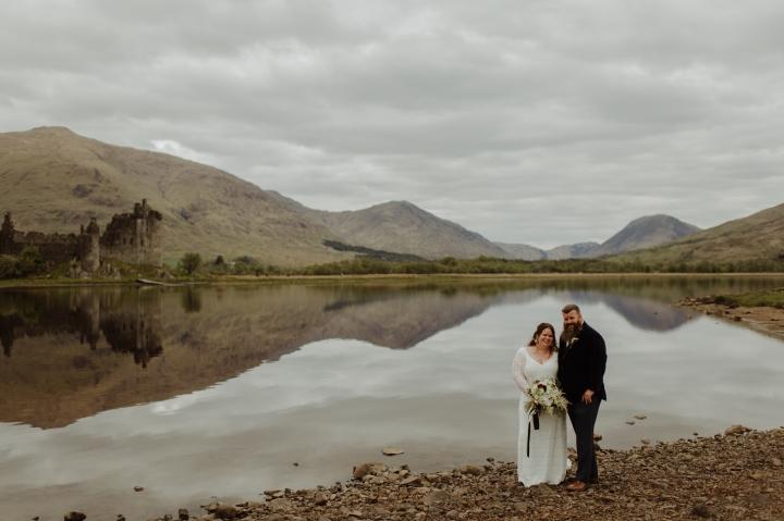 Loch Awe Fairytale Elopement, KilchurnCastle
